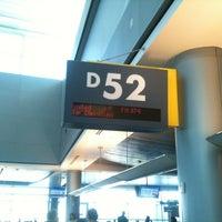 Photo taken at Gate D52 by j k. on 11/21/2012
