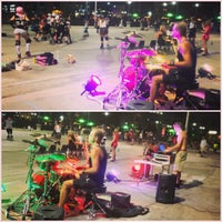 Photo taken at Rink on the River by Joel A. on 7/23/2013