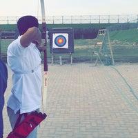 Photo taken at ميدان صباح الاحمد للرمايه by Saqer A. on 4/25/2018