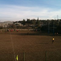 "Photo taken at Stadio Rugby ""Venjulia Rugby Trieste"" by Matteo S. on 1/27/2013"