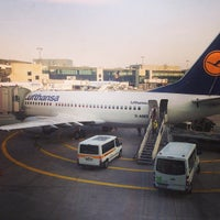 Photo taken at Gate A1 by Evgeny B. on 7/12/2013