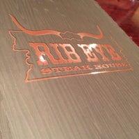 Photo taken at Rib Eye Steakhouse by Chawarot C. on 3/18/2014