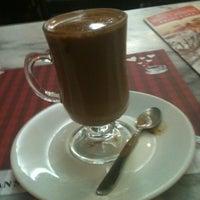 Photo taken at Fran's Café by Daniela Piragibe L. on 6/1/2013