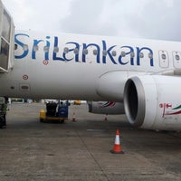 Photo taken at Srilankan Airline UL 102 by Mohammed H. on 11/29/2012