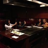 Photo taken at Yamato Japanese Steakhouse by Zhiwen Y. on 8/18/2013