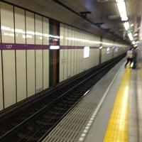 Photo taken at Hanzomon Station (Z05) by Shin M. on 6/14/2013