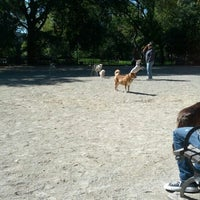 Photo taken at Tompkins Square Park Dog Run by Nick B. on 10/13/2012