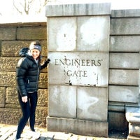Photo taken at Central Park - Engineers' Gate by Nick B. on 12/30/2012