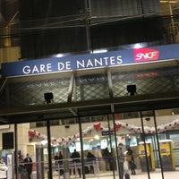 Photo taken at Nantes Railway Station by Gaël H. on 12/18/2012