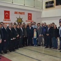12/17/2014 tarihinde Osman Ö.ziyaretçi tarafından Ak Parti Ankara İl Başkanlığı Sanayi Komisyonu Başkanlığı'de çekilen fotoğraf