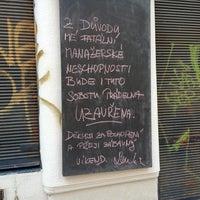 Photo taken at Prádelna Cafe by Jitka S. on 6/9/2013