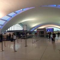 Photo taken at Lambert-St. Louis International Airport (STL) by Ishaan J. on 4/7/2013