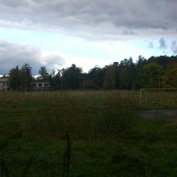 Photo taken at Пролетарский стадион by Павел К. on 9/28/2013