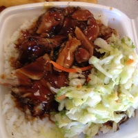 Photo taken at B-Man's Teriyaki & Burgers by El G. on 10/29/2012