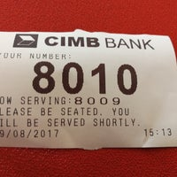 Photo taken at CIMB Bank by فيزال زينول (. on 8/29/2017