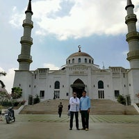 Photo taken at Al-Serkal Mosque by فيزال زينول (. on 3/23/2017