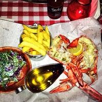 Photo taken at Big Easy Bar.B.Q & Crabshack by Bode C. on 1/30/2014