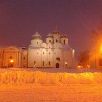 Das Foto wurde bei Novgorod Kremlin von Alexey B. am 12/9/2012 aufgenommen