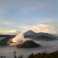 Photo taken at Mount Bromo by Novia on 5/4/2014
