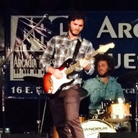 Photo taken at Arcadia Blues Club by Nomadaccess A. on 7/25/2015