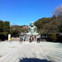 Photo taken at Great Buddha of Kamakura by 天野 至. on 12/25/2012