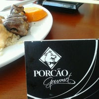 Foto diambil di Porcão Gourmet oleh Jô U. pada 1/5/2013