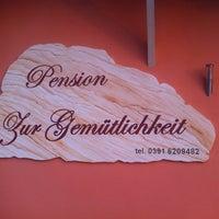 Photo taken at Pension zur Gemütlichkeit by Manuel K. on 7/27/2014