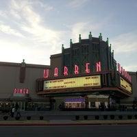 Photo taken at Warren Theatre by MJ A. on 3/3/2013