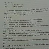 Photo taken at Universitas Kristen Indonesia Tomohon (UKIT) by Mareyke S. on 11/22/2012