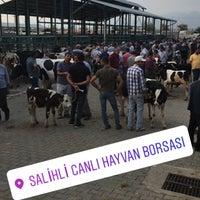Photo taken at Salihli Canlı Hayvan Borsası by Murat S. on 7/18/2017
