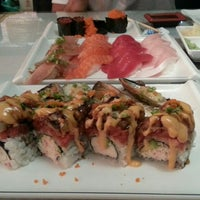 Photo taken at Hello Sushi by M M. on 10/13/2013