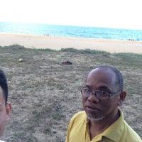 Photo taken at Pantai Teluk Lipat by Jaie A. on 7/1/2017
