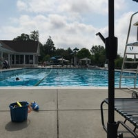 Photo taken at Mays Chapel Swim Club by Redstone D. on 7/18/2017