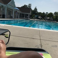 Photo taken at Mays Chapel Swim Club by Redstone D. on 7/12/2017