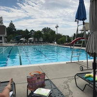 Photo taken at Mays Chapel Swim Club by Redstone D. on 7/11/2017