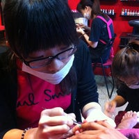 Photo taken at Nails@ Hue by Sandra M. on 10/4/2012