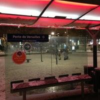 Photo taken at Station Porte de Versailles [T2,T3a] by DAVID F. on 1/18/2013