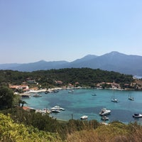 Photo taken at Poseidonio by Funda Ü. on 8/17/2017