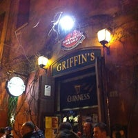 Photo taken at Griffin's Irish Pub by Nataly on 3/13/2013