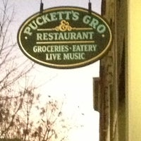 Photo taken at Puckett's Grocery & Restaurant by Bethany T. on 11/23/2012