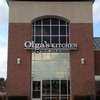 Photo taken at Olga's Kitchen by Dawn E. on 11/28/2012