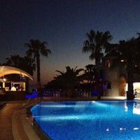 Photo taken at Thalia Beach Resort by Alp E. on 4/27/2013