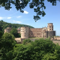 Photo taken at Heidelberger Schloss by beatrice w. on 6/4/2013