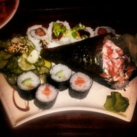 Photo taken at Lins Sushi by Antonela T. on 1/4/2013