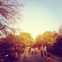 """Снимок сделан в Парк """"Гео Милев"""" (Park Geo Milev) пользователем Bebo H. 4/25/2013"""