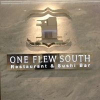 Photo taken at One Flew South Restaurant & Sushi Bar by Len B. on 11/30/2012
