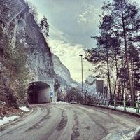 Foto scattata a Diga del Vajont da Alexey S. il 2/22/2013