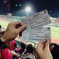 Photo taken at Supachalasai Stadium by Bow on 11/25/2017