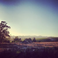 Photo taken at The Hilltop Dining Room at The Carneros Inn by Jason S. on 8/3/2013