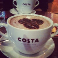Photo taken at Costa Coffee by Em R. on 1/4/2013